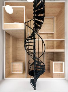 RoomOnTheRoof, Amsterdam, 2015 - @i29interiors #staircases #spirals