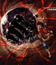 Monkey D Luffy (One Piece) The Captain of the Straw Hat pirates! The rest of the group will make their appearance soon! Coming up next will be Zoro! One Piece Top, One Piece World, One Piece Fanart, One Piece Manga, Comic Art, Elephant Gun, Anime Pirate, Illustrator, Monkey D Luffy