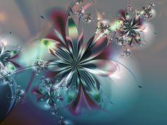 2007 Fractal Flowers Calendar by Vanessa V. Medeiros, via Behance Fractal Art, Fractals, Wallpaper Pc, Calendar, Happy Birthday, Fantasy, Abstract, Awesome, Floral
