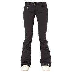 A picture of the Roxy Equinox 10K Shell Women's Snow Pants in Black