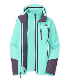 The North Face Women's Jackets & Vests INSULATED 3-IN-1 JACKETS WOMEN'S ADELE TRICLIMATE® JACKET $240
