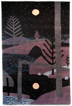 Jon Klassen - Artwork - Jon Klassen Handwoven Rug  - Nucleus | Art Gallery and Store