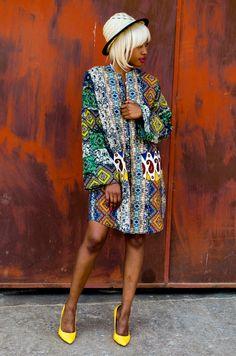 Mangishi Doll Kwesa Dress - Women
