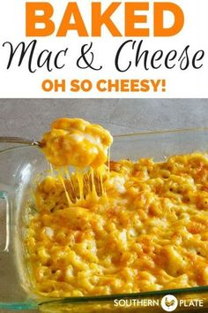 My Favorite Baked Macaroni and Cheese