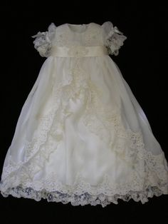 Daniella's Custom Christening or Baptism Gown by BertasBoutique