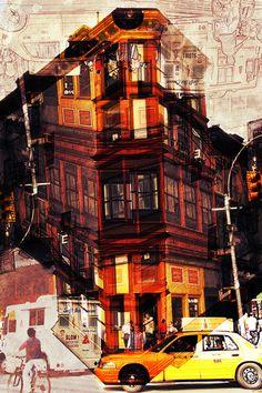 rythm of a new york street