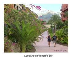 Unbetitelt Tenerife, Costa, Sidewalk, Street View, Christians, Photos, Beach, Teneriffe, Walkways