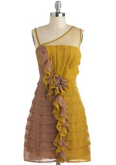 Let's Get Ready to Ruffle Dress, #ModCloth