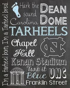 Items similar to Carolina Tar heels Tarheels Chalkboard Subway Art Digital Man Cave UNC-Chapel HIll Graduation Gift on Etsy Carolina Pride, Carolina Blue, Carolina Girls, Graduation Gifts, Graduation Parties, Graduation Ideas, Unc Chapel Hill, Unc Tarheels, Sports