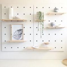 kitchen decoration – Home Decorating Ideas Kitchen and room Designs Kmart Peg Board, White Pegboard, Ikea Pegboard, Kitchen Pegboard, Pegboard Display, Diy Interior, Interior Design, Kmart Decor, Laundry Decor