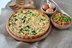 Prajitura Krem a la Krem - Retete culinare by Teo's Kitchen Hummus, Broccoli, Zucchini, Fish, Breakfast, Ethnic Recipes, Kitchen, Pie, Bakken