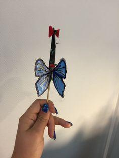 Nail art 3D papillon!
