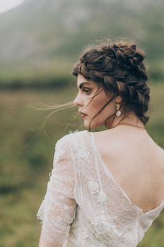 Inspired by nature, this mystic Irish coast styled shoot takes place on the Donegal coastline with photos by Paula O'Hara and styling by Grace & Saviour.