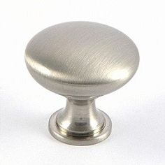 Door knobs and cabinet pulls are brushed nickel.