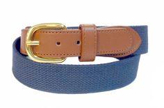Premium PU Leather Mens Boat marine belt Wholesale 8002NNB