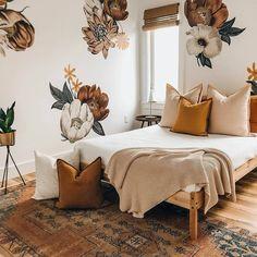 Bohemian Bedroom Decor, Cozy Bedroom, Bedroom Inspo, Bedroom Ideas, Bohemian Interior, Master Bedroom, Design Bedroom, Bedroom Inspiration, Boho Decor
