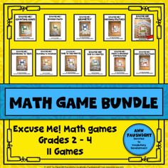 Excuse Me! Do you want to engage your students in learning math? Excuse Me! math games let's your students have fun while practicing and reinforcing their skills.The game is easy to learn and simple to play. More about the Product • covers most skills in the third grade curriculum If you discover