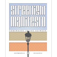 Streetlight Manifesto - Somewhere In The Between Poster - $3.00