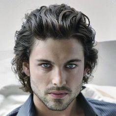 30 Great Curly Hairstyles for Men: Inspirations and Ideas We want to spare you some time and inspiration, so we have collected 30 awesome curly hairstyles for men so you can get a few new ideas.