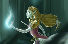 "- Inspired by The Legend of Zelda: Twilight Princess - Fine Art Giclee Print - Limited Edition of 20 - Approximately 17"" x 11"""