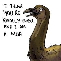 """""""Motivational Megafauna, they're extinct but they are proud of you.""""  These are great."""