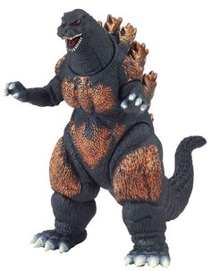 Godzilla Movie Monster Series Burning Godzilla Vinyl Figure. TM&(C)TOHO CO.,LTD.