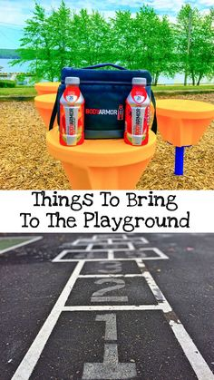 Things To Bring To The Playground #Switch2BODYARMOR #ad