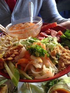 Lille Saigon Restaurant in Oslo. Vietnamese food
