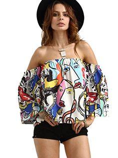 ROMWE Women's Off Shoulder Cute Loose Blouse Crop Top Mul... https://www.amazon.com/dp/B01JA3BQ3C/ref=cm_sw_r_pi_dp_x_Pp0AybMKCE37Z