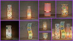 DliteCrafts: Mosaic Glass Table Lamp