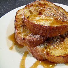 egg white french toast!  hooray!