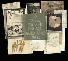 Marcel Duchamp, La Mariée mise à nu par ses célibataires même (Boîte verte) on ArtStack #marcel-duchamp #art