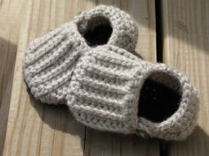 Crochet Easy on Loafers Crochet Booties Slippers Ready by giggalz,