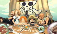 Straw Hat Pirates - One Piece,Anime