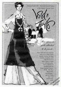 Lord & Taylor, Fashion Art, Ads, Jewels, Aprons, Movie Posters, Vintage, Clothes, Outfits