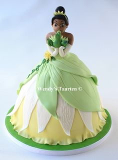 princess and the frog By freubelmuisje on CakeCentral.com