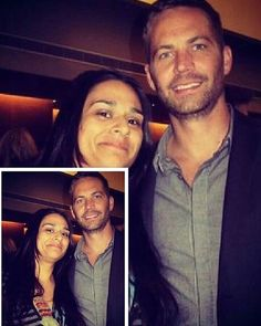 Lucky woman #momentsofpaulwalker with Fans