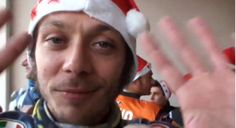 Merry Christmas And A Happy New Year From Valentino Rossi (VIDEO)