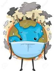 Mascot Illustration of the Earth Wearing a Surgical Mask to Cope with Air Pollution , Planet Drawing, Earth Drawings, Save Mother Earth, Save Our Earth, Save Environment Posters, Save Environment Poster Drawing, Global Warming Poster, Global Warming Drawing, Air Pollution Poster