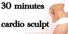 Best Basic Cardio &Sculpt Workout Video EVER!  Low Impact Beginner Worko...