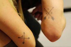 Charlotte Crosby and Jamie Laing tattoos