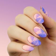 Hawaii Sea Nail Art Stamp Design customer review from bornprettystore.com. #naildesign #nailart