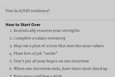 Finding a New Job When You Have ADHD: A Relaunch Guide Finding The Right Job, Find A Job, Adhd, Career, Passion, How To Plan, Reading, Life, Carrera