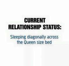Top 35 Dating Humor Quotes - Relationship Funny - Current Relationship Status: Sleeping diagonally across the Queen bed The post Top 35 Dating Humor Quotes appeared first on Gag Dad. Single Quotes Funny, Im Single Quotes, Funny Quotes, Quotes, Mom Quotes, Single Humor, Single Mom Quotes, Dating Quotes, Dating Humor Quotes