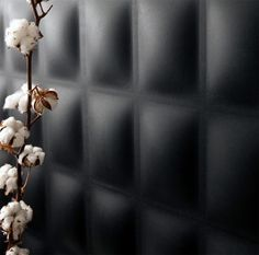 Decorative wall panel in recycled cardboard - CUBE by Jaime Salm . Decorative wall panel in Decorative wall panel in recycled cardboar. Padded Wall Panels, 3d Wall Panels, Wall Display Case, 3d Wall Decor, Interior Wallpaper, Wall Patterns, Wall Treatments, Floral Wall, Textured Walls