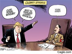 Trump, Hitler and the Worst Time for Editorial Cartoons ...