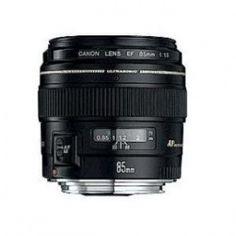 Canon EF 85mm f/1.8 USM Lenses