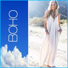 Beautiful Boho Dress!! Beautiful Boho Dress! Available in plus sizes!New fabric, new cut, new sizes, and new color!!! Available in sizes  12-18w In black and in white!! So soft and comfy!! Wear it to the beach, with a jacket, if you find it shear, wear a slip!! So versatile, wear with sandals, flip-flops, or heels! Dress it up, or wear as is!! please note this listing is for larger sizes, and is made of a different fabric, my 1st listing is for smaller sizes☀️this item runs true to size! ✌️…