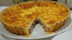 Quiche Pasta Recipes - The Traditional - Very Easy to Make! Quiches, Pasta Recipes, Cooking Recipes, Quiche Recipes, Fast Good, Quiche Lorraine, Cheesecakes, Food To Make, Muffin