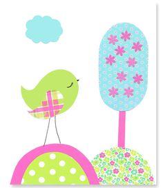 https://www.etsy.com/es/listing/209133412/aqua-green-fuchsia-bird-nursery-decor?ref=related-3